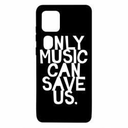 Чехол для Samsung Note 10 Lite Only music can save us.