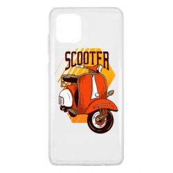 Чохол для Samsung Note 10 Lite Orange scooter