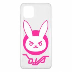 Чехол для Samsung Note 10 Lite Overwatch dva rabbit