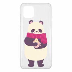 Чехол для Samsung Note 10 Lite Panda and Cappuccino