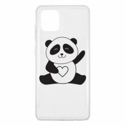 Чохол для Samsung Note 10 Lite Panda and heart