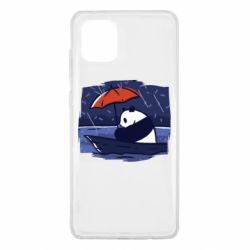 Чехол для Samsung Note 10 Lite Panda and rain