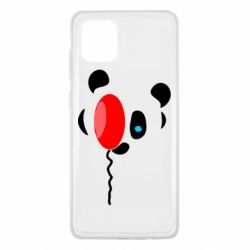 Чехол для Samsung Note 10 Lite Panda and red balloon