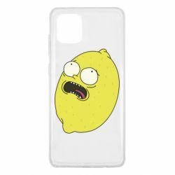 Чохол для Samsung Note 10 Lite Pickle Rick Sanchez