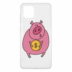 Чохол для Samsung Note 10 Lite Pig and $