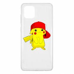 Чехол для Samsung Note 10 Lite Pikachu in a cap