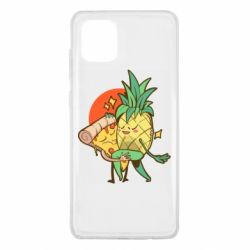 Чехол для Samsung Note 10 Lite Pineapple and Pizza