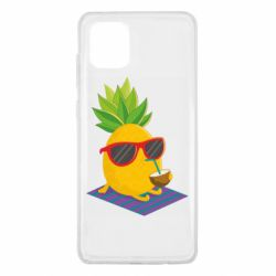 Чехол для Samsung Note 10 Lite Pineapple with coconut