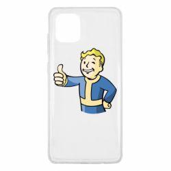 Чехол для Samsung Note 10 Lite Pip boy fallout