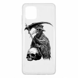 Чехол для Samsung Note 10 Lite Plague Doctor graphic arts