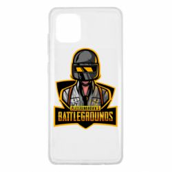 Чехол для Samsung Note 10 Lite Player unknown battle grounds