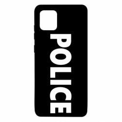 Чехол для Samsung Note 10 Lite POLICE