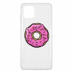 Чехол для Samsung Note 10 Lite Пончик Гомера