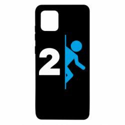 Чехол для Samsung Note 10 Lite Portal 2 logo