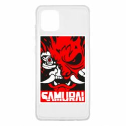 Чохол для Samsung Note 10 Lite Poster samurai Cyberpunk