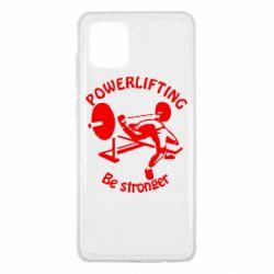 Чехол для Samsung Note 10 Lite Powerlifting be Stronger