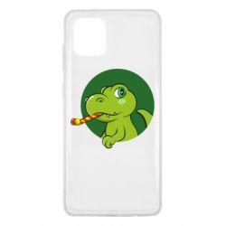 Чохол для Samsung Note 10 Lite Святковий динозавр