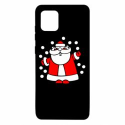 Чохол для Samsung Note 10 Lite Прикольний дід мороз