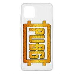 Чехол для Samsung Note 10 Lite PUBG and cracks