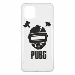 Чехол для Samsung Note 10 Lite PUBG: hero face
