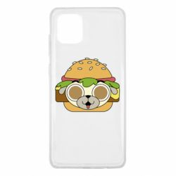 Чохол для Samsung Note 10 Lite Pug Hamburger