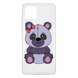 Чохол для Samsung Note 10 Lite Purple Teddy Bear