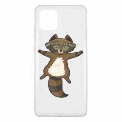 Чехол для Samsung Note 10 Lite Raccoon