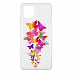 Чохол для Samsung Note 10 Lite Rainbow butterflies