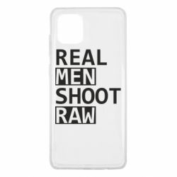 Чохол для Samsung Note 10 Lite Real Men Shoot RAW