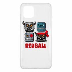 Чохол для Samsung Note 10 Lite Red ball heroes