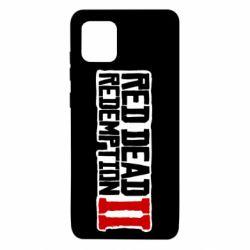 Чохол для Samsung Note 10 Lite Red Dead Redemption logo