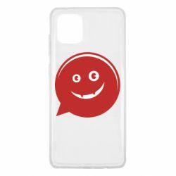 Чехол для Samsung Note 10 Lite Red smile