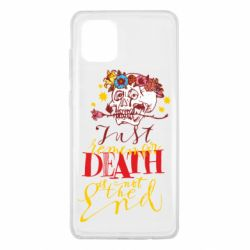 Чехол для Samsung Note 10 Lite Remember death is not the end