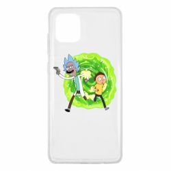 Чохол для Samsung Note 10 Lite Rick and Morty art