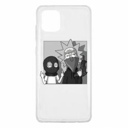 Чехол для Samsung Note 10 Lite Rick and Morty Bandits