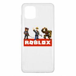 Чехол для Samsung Note 10 Lite Roblox Heroes