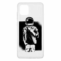 Чехол для Samsung Note 10 Lite Рок Космонавт