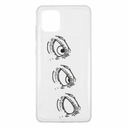 Чехол для Samsung Note 10 Lite Rolling eyes in stages
