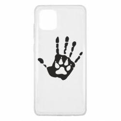 Чехол для Samsung Note 10 Lite Рука волка