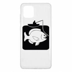 Чехол для Samsung Note 10 Lite Рыба на крючке