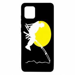 Чехол для Samsung Note 10 Lite Рыбак