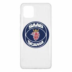Чехол для Samsung Note 10 Lite SAAB Scania