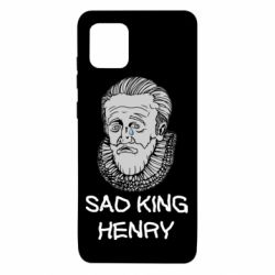 Чехол для Samsung Note 10 Lite Sad king henry