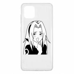Чехол для Samsung Note 10 Lite Sakura girl