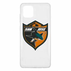 Чохол для Samsung Note 10 Lite San Jose Sharks
