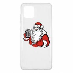 Чехол для Samsung Note 10 Lite Santa Claus with beer