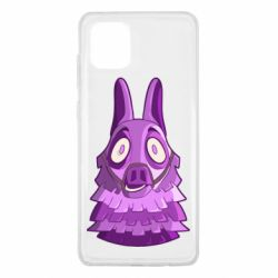 Чохол для Samsung Note 10 Lite Scared llama from fortnite