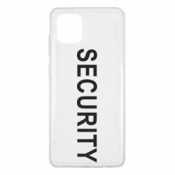 Чехол для Samsung Note 10 Lite Security
