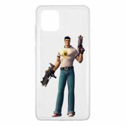 Чехол для Samsung Note 10 Lite Serious Sam with guns