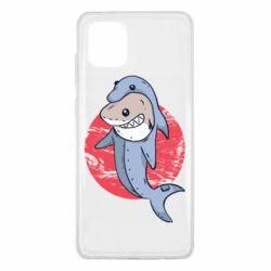 Чехол для Samsung Note 10 Lite Shark or dolphin